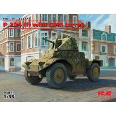 Panzerspähwagen P 204 (f) avec tourelle CDM 1/35