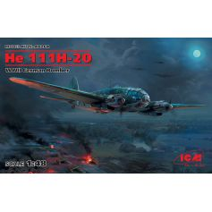 He 111H-20 WWII German Bomber 1/48