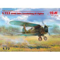 I-153 WWII China AF Fighter 1/72