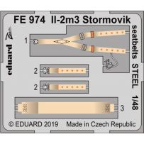 Il-2m3 Stormovik seatbelts 1/48