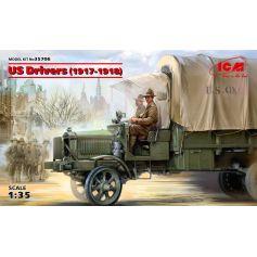 US Drivers 1917-1918 2 figures 1/35