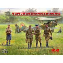 U-2/Po-2VS with Soviet Pilots & GP (1943-1945) 1/48