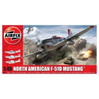 Airfix A05136 North American F51D Mustang 1/48