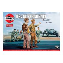 Airfix 00748v USAAF Personnel 1/76