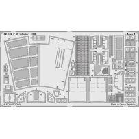 Eduard 32946 F-5F interior 1/32