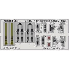 F-5F seatbelts 1/32