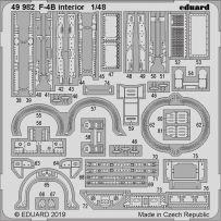 Eduard 49982 F-4B interior 1/48