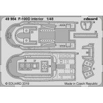 Eduard 49984 F-100D interior 1/48
