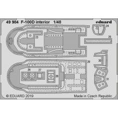 F-100D interior 1/48