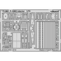 Eduard 73662 F-105D interior 1/72