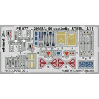 Eduard FE977 L-39MS/L-59 seatbelts 1/48