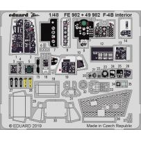 Eduard FE982 F-4B interior 1/48