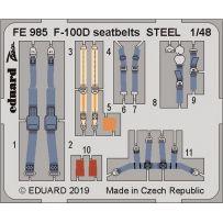 Eduard FE985 F-100D seatbelts 1/48