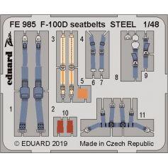 F-100D seatbelts 1/48