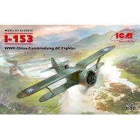 I-153 WWII China Guomindang AF Fighter 1/32
