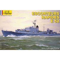 Heller 81094 Escorteurs Rapides E52 1/400