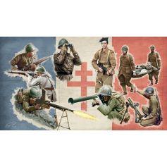 Infanterie FFL 2eme G.M. 1/72