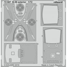 B-58 exterior 1/72