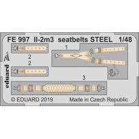 Il-2m3 seatbelts steel 1/48