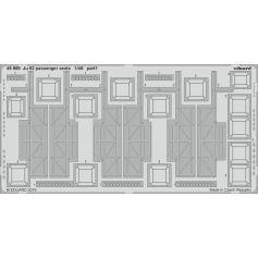 Ju 52 passenger seats 1/48