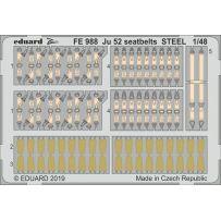 Eduard FE988 Ju 52 seatbelts steel 1/48