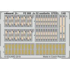 Ju 52 seatbelts steel 1/48