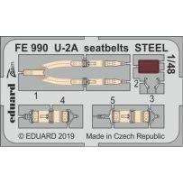 Eduard FE990 U-2A seatbelts steel 1/48