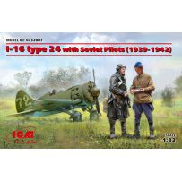 I-16 type 24 with Soviet Pilots 1/32
