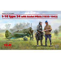 I-16 type 24 with Soviet Pilots 1/32