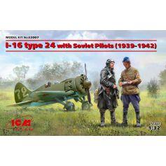 I-16 type 24 with Soviet Pilots 1939-1942 1/32