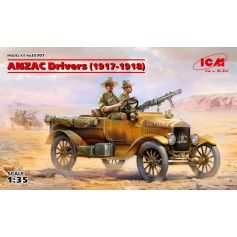 ANZAC Drivers 1917-1918 2 figures 1/35