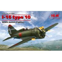 I-16 type 10, WWII Soviet Fighter 1/32