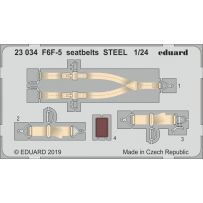 F6F-5 seatbelts Steel 1/24