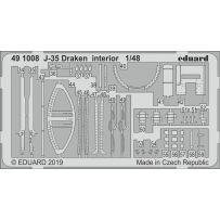 J-35 Draken interior 1/48