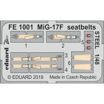 MiG-17F seatbelts Steel 1/48