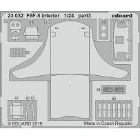 Eduard F6F-5 interior 1/24