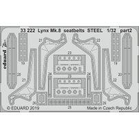 Eduard Lynx Mk.8 seatbelts Steel 1/32