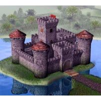 Chateau Medieval 1/72