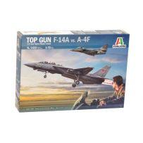 Combo Top Gun F-14A vs A-4F 1/72