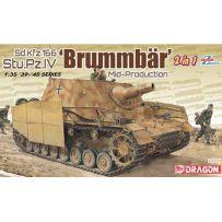 Sd.Kfz.166 Brummbär (2 in 1) 1/35