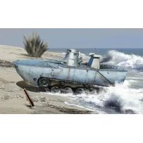 Char Amphibie Japonais Ka-Mi 1/35