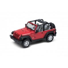 WELLY 22489C-W - Jeep Wrangler Rubicon (Convertible) 1/24