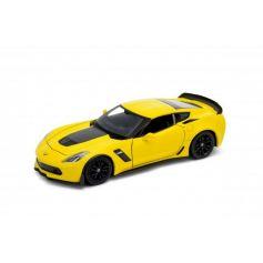 Chevrolet Corvette Z06 2017 Yellow 1/24