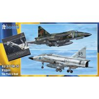 SAAB 37 Viggen Duo Pack & Book 1/72