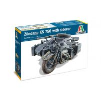 Zundapp KS 750 Sidecar 1/9