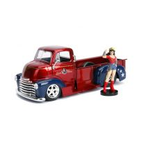 Jada 253255010 Checy COE Pickup + Wonder Woman 1952 1/24