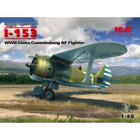 I-153, WWII China Guomindang AF Fighter 1/48