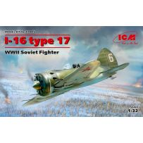 I-16 type 17, WWII Soviet Fighter 1/32