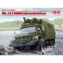 ZiL-131 KShM with Soviet Drivers 1/35