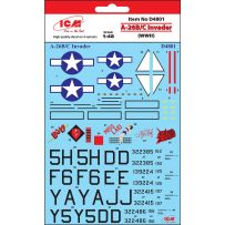 DECAL SHEET A-26B/C Invader (WWII) 1/48